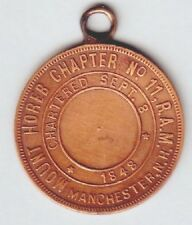 C2832     MANCHESTER,  N.H.   MASONIC  PENNY    MEDAL,   MT.  HOREB  CHAPTER