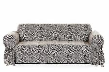 Zebra Leopard Pattern Slip cover for Sofa/Loveseat/Chair