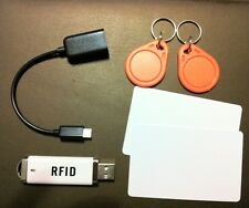 mini RFID Proximity 13.56Mhz M1 ISO14443A Entry Access Card /Tag reader USB