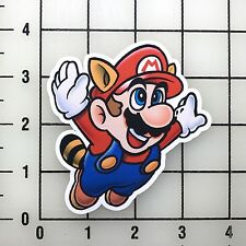 "Mario Tanooki 3.5"" Wide Vinyl Decal Sticker BOGO"