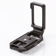 QR Vertical  L Plate Bracket for Nikon D750 Camera Arca Swiss Sunwayfoto Tripod