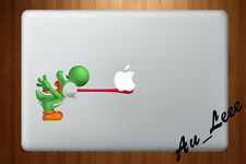 Macbook Air Pro Skin Sticker Decal Super Mario Yoshi Game Nintendo Cute CMAC166