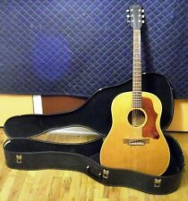 Late 1967/Early 1968 Gibson J50 ADJ Roundshoulder Dreadnought Acoustic Guitar