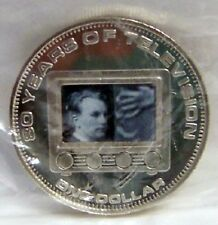 COOK ISLANDS MOVING IMAGE TV 2006 $1 CUNI COIN uncirculated