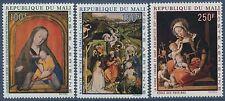 MALI 1970 N°85/87** tableau noël, paintings christmas set MNH