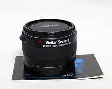 Vivitar Series 1 2x Auto Teleconverter Minolta AF Autofocus 35m SLR Film Maxxum