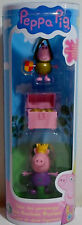 PEPPA PIG PRINCESS PEPPA SIR GEORGE & TREASURE CHEST ROYAL FIGURES SEALED TUBE A