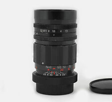 Harmony 135mm f/3.5 T2 M42 16 Blade Super Bokeh Manual Lens Royal Family SAMPLES