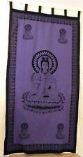 Curtain Goddess Kwan Yin Kuan Guan Quan Wall Hanging Cotton Tapestry #CT49PL