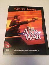 The Art Of War (DVD, 2001) wesley snipes, region 2 uk dvd