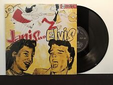 Janis Martin & Elvis Presley ‎– Janis & Elvis on RCA 130 253 French Import