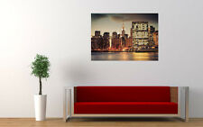 NEW YORK CITY SKYLINE NEW GIANT LARGE ART PRINT POSTER PICTURE WALL