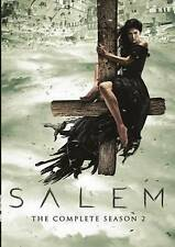 Salem: The Complete Season 2 (DVD, 2016, 3-Disc Set) Free Shipping