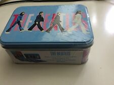 'THE BEATLES' NEW NOTE CARD GIFT SET TIN (CARDS, ENVELOPES, STICKERS) FREE POST
