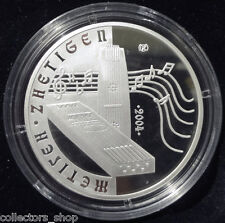 KAZAKHSTAN: silver 500 tenge *ZHETIGEN*MUSIC*musical instruments*2004*PROOF