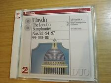 Haydn London  Symphonies Vol. 2: Davis/Royal Con (1994, 2 CD) Philips  442 614-2