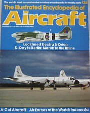 Encyclopedia of Aircraft Issue 128 Lockheed Electra & Orion cutaway drawing