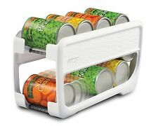 Canned Food Dispenser Can Rack Kitchen Cabinet Cupboard Pantry Storage Organizer