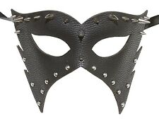Men's Leather Masquerade Mask Dominatrix 50 Shades of Gray PU Prom Wedding Gift