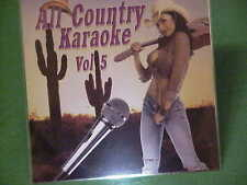All Country~~karaoke~~#5~~~My Best Days Are Ahead of Me~~~Giddy on Up~~~CD+G~New