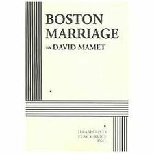 Boston Marriage - Acting Edition by David Mamet