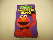 Sesame Street - The Best of Elmo (VHS, 1994)