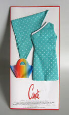 "AQUA 1 SHOULDER Doll Dress with purse, scarf Fits 11.5-12"" Candi BARBIE FR new"