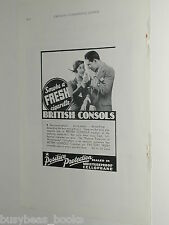 1932 British Consols Cigarettes ad, Gay Young People