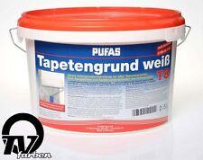 Pufas Tapetengrund weiß 2,5l Voranstrich Tapetengrundierung
