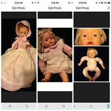 LOT 3 DOLLS, CITITOY YOURS BABY DOLL, ASHLEY BELLE,  PRAIRIE