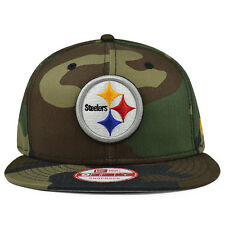 Pittsburgh Steelers CAMO Snapback 9Fifty New Era NFL Hat