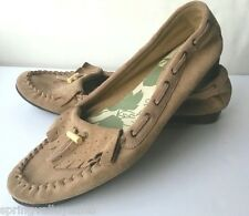Dockers Moccasin Slippers Suede Leather Loafers Comfy Shoes Women's 11 M EUC