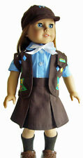 "5 Piece Brownie Outfit for 18"" American Girl Doll Clothes"