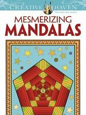 Dover Publications Mesmerizing Mandalas (Adult Coloring), Randall McVey, New Boo