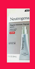 Neutrogena Rapid Wrinkle Repair Serum, with Hyaluronic Acid, NIB, unisex