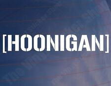 HOONIGAN Novelty Vinyl JDM/Drift/Sports Car/Window/Bumper Sticker/Decal