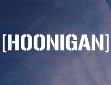 Hoonigan Novedad Vinilo jdm/drift/sports car/window/bumper calcomanía / etiqueta adhesiva