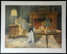 "Animals-Cats & Dogs-James Lumbers-""Cat Napping""-L/E-S/N Lithograph-Art-Prints"