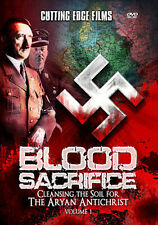 BLOOD SACRIFICE: Cleansing the Soil for the Aryan Antichrist - Brand New DVD!