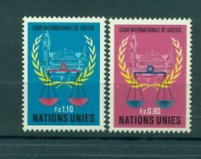Nations Unies Géneve 1979 - Michel n. 86/87 -  Cour internationale de Justice