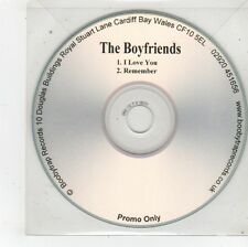 (FU54) The Boyfriends, I Love You / Remember - DJ CD