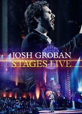 JOSH GROBAN CD - STAGES LIVE [CD/BLU-RAY](2016) - NEW UNOPENED - REPRISE RECORDS