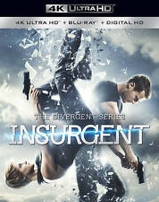 The Divergent Series: Insurgent (DVD, 2016, 4K Ultra HD Blu-ray/Blu-ray)