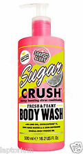 Jabón Y Gloria azúcar Crush fresca y espumosa Body Wash 500 Ml Shower Gel Limpiador