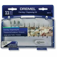 Dremel 689-01 11-Piece Rotary Tool Carving and Engraving Kit, New, Free Shipping