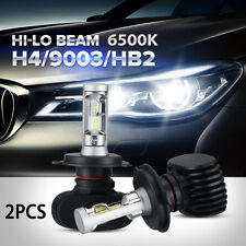 2x H4 PHILIPS Chip LED Headlight Kit 160W 16000LM High Low Beam Bulb 6000K White