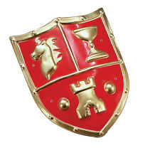 MEDIEVAL #CRUSADER SOLDIERS SHIELD PVC FANCY DRESS OUTFIT ACCESSORY