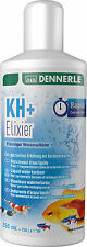 Dennerle KH+ Elixir Elixier Water Hardener Increase Carbonate Hardness pH 250ml