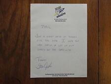 STAN  JOPLIN (Toledo  Rockets  Basketball) Signed  8 1/2 x 11   Personal  Letter