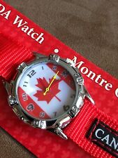 Canada  Flag   Watch  Beautiful Gift idea...Must Have